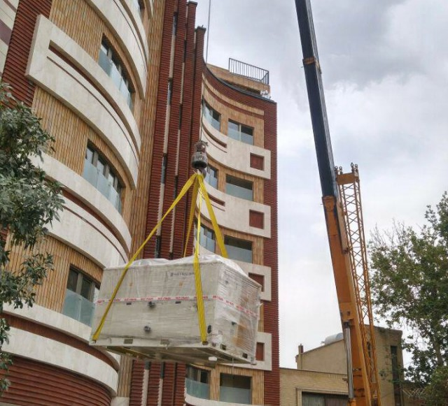 Hitecsa - Hitecsa's Krono2 chillers in a luxury residential project in Iran