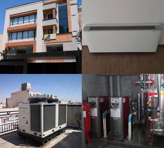 Hitecsa - Hitecsa and Adisa Heating HVAC solutions once again chosen for a new luxury Residential Building in Iran
