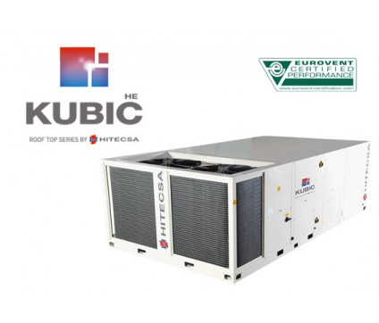 KUBIC HE | RMXRBA HE  | AIR-AIR HIGH EFFICIENCY ROOF TOP UNITS, WITH AXIAL FANS