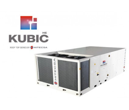 KUBIC HE - RMXRBA HE  | AIR-AIR HIGH EFFICIENCY ROOF TOP UNITS, WITH AXIAL FANS