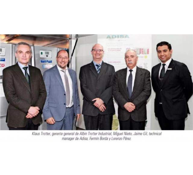 Hitecsa - Adisa Heating establishes a new commercial alliance with Albin Trotter Industrial in Chile