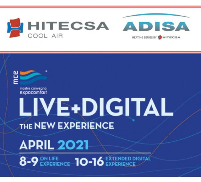 Hitecsa - HITECSA - ADISA HEATING would like to invite you to visit us at MCE LIVE+DIGITAL