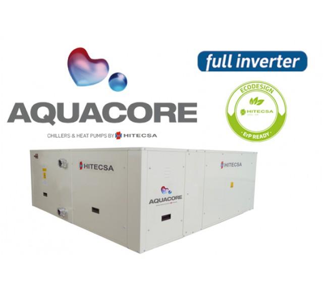Hitecsa - Hitecsa lanza al mercado Aquacore, bomba de calor Full Inverter con un corazón hidrónico. Sistema hidrónico + Modulación inverter: CONFORT Y SALUD